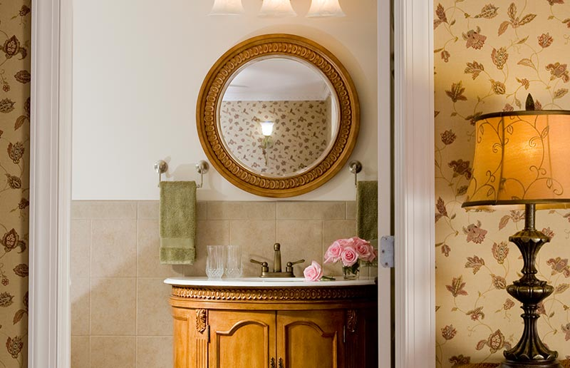 Suite 301 Bathroom, The Wilbraham Mansion & Suites, Cape May, New Jersey