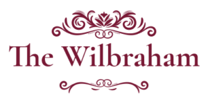 Wilbraham Red Logo | The Wilbraham Mansion & Suites, Jersey Shore, Cape May New Jersey