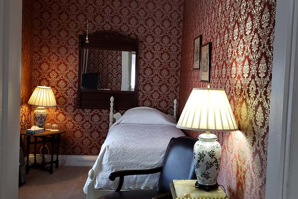 Room 7, The Wilbraham Mansion Bed & Breakfast, On the Jersey Shore