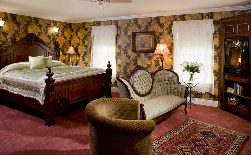 Suite 201 Fireplace, The Wilbraham Mansion & Suites Boutique Hotel, Cape May, NJ