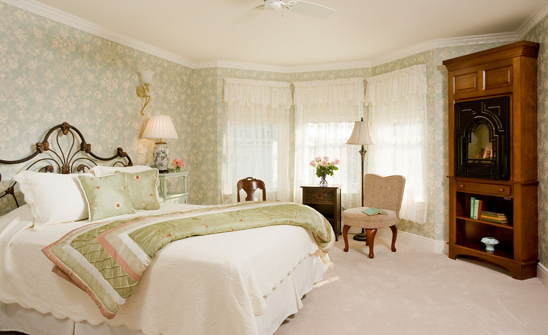 Suite 204 Fireplace, The Wilbraham Mansion Bed & Breakfast, On the Jersey Shore