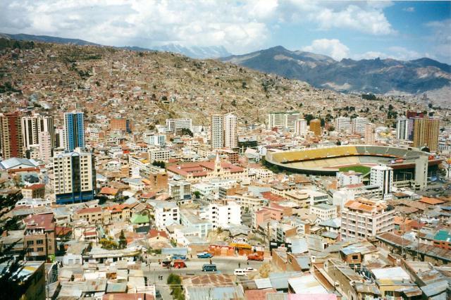 Bolivia Football Stadium La Paz-1
