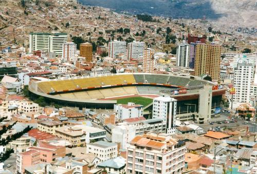 Bolivia Football Stadium La Paz