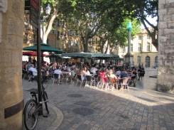 Aix-en-Provence, a leafy square