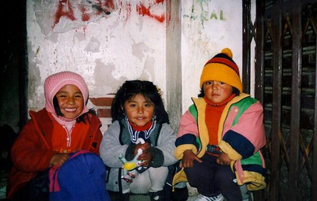Three Pals, La Paz, Bolivia
