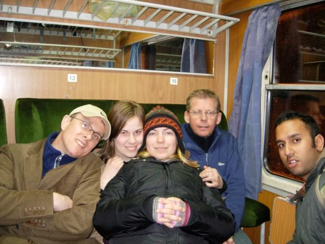 Train Journey From Niš to Sofia