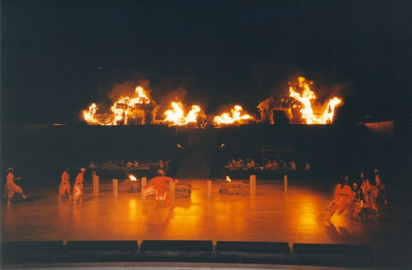 Fiery End To The Ramayana