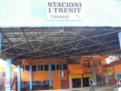 Tirana's Former Train Station
