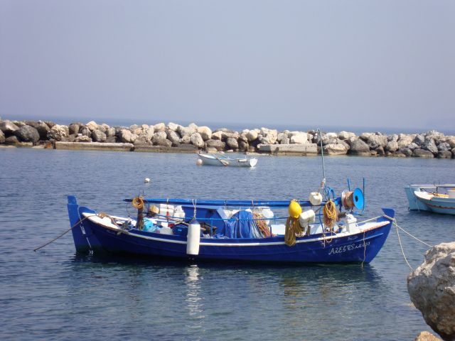 Fishing Boat, Skyros, Greece