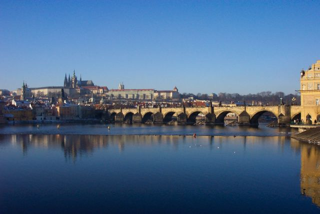 Prague, Charles Bridge & Vltava River