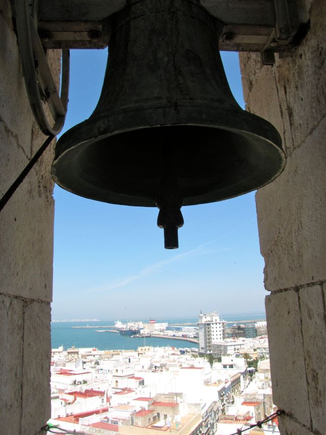 View from Cadiz Cathedral Bell Tower
