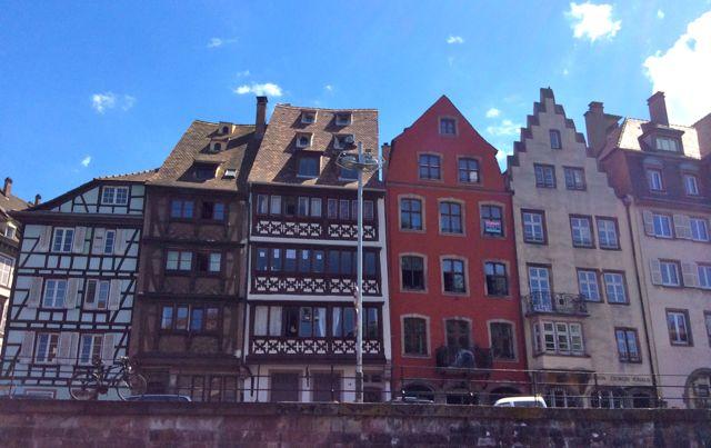 Canalside Buildings, Strasbourg, France