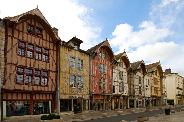 Timbered Houses, Troyes