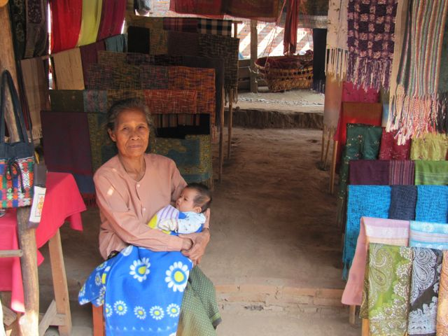 Laos Grandmother