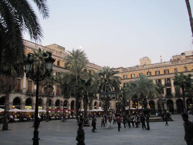 Plaça Reial, Barri Gotic, Barcelona