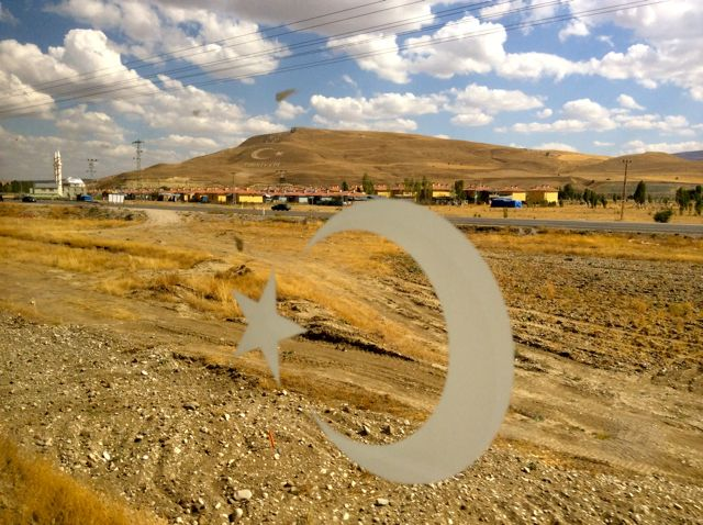 Turkey Train View
