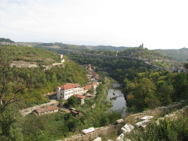 View Of Tsaravets From Veliko Tarnovo, Bulgaria