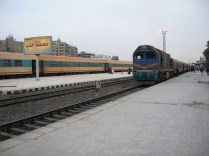 Aleppo Train Station