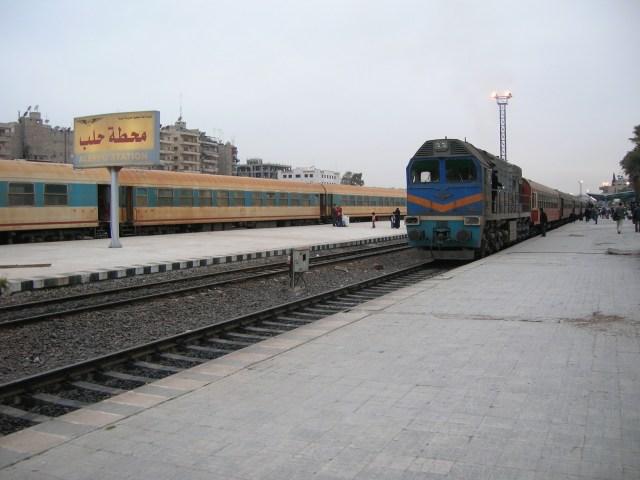 Aleppo Station, Syria