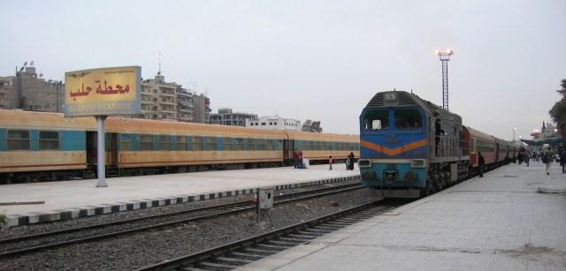 Aleppo Train Station