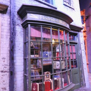 Flourish & Blotts, Diagon Alley