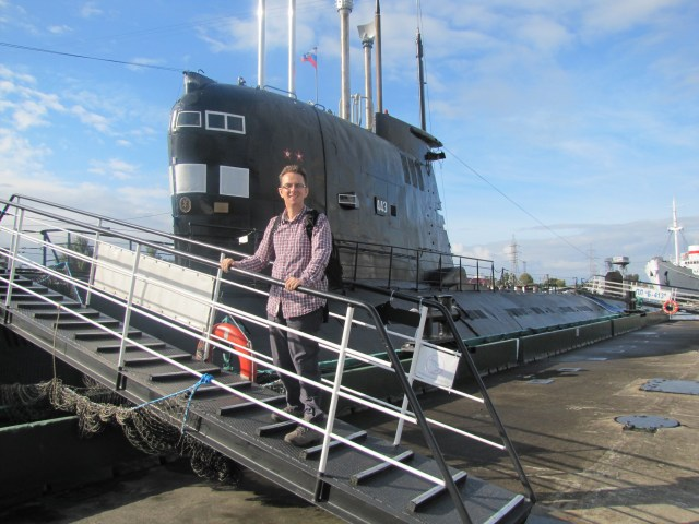 Foxtrot Submarine, Kaliningrad, Russia