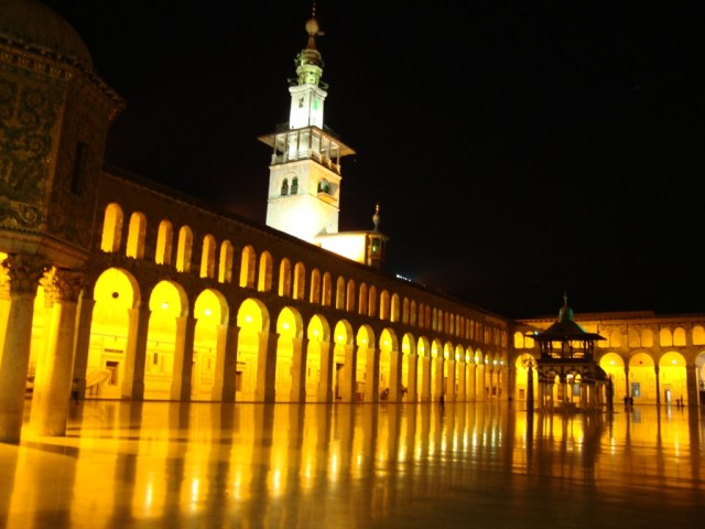 Umayyad Mosque, Damascus. Islam's First Great Mosque