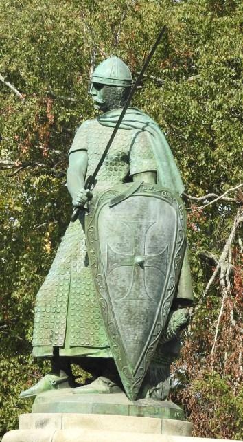 Braganza Palace Guimaraes Knight Statue