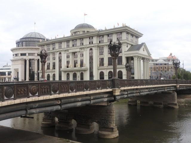 New Bridge & Building, Skopje