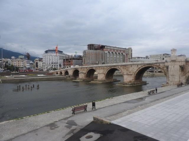 Skopje, Macedonia. September 2017.