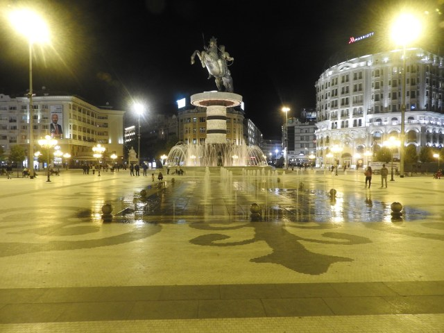 Alexander The Great Statue, Skopje, North Macedonia