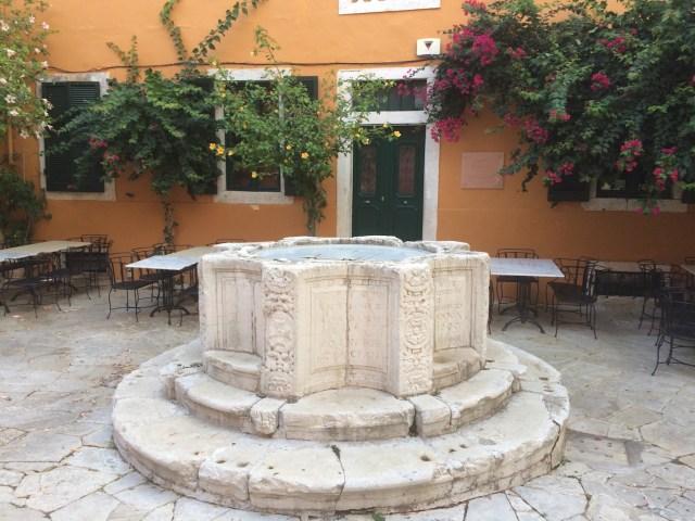Venetian Well, Corfu, Greece