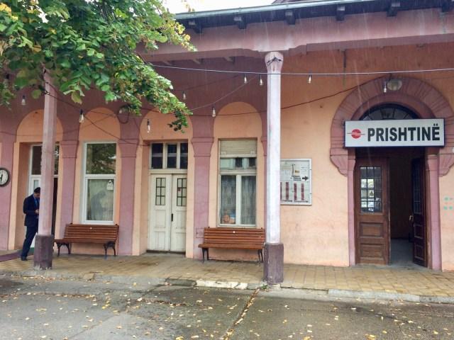 Pristina Station, Platform Side