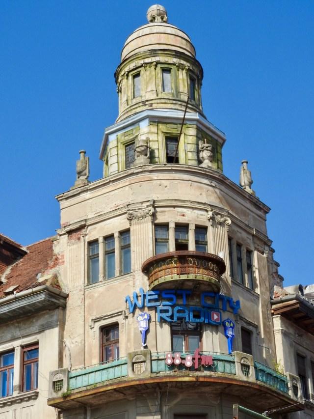 West City Radio Building, Timișoara, Romania