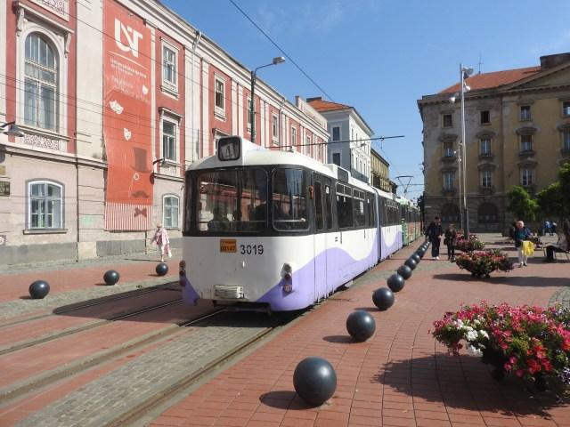 Libertăţii Square Tram Timișoara, Romania