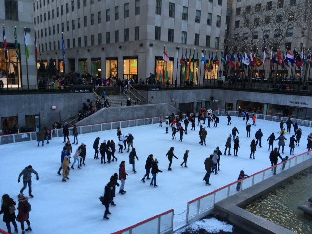 Ice Skating, Rockefeller Centre, New York