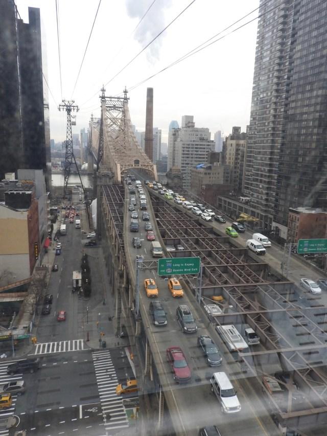 Roosevelt Island Tramway, New York, USA. January 2018.