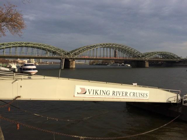 The Hohenzollern Bridge, Cologne, Germany