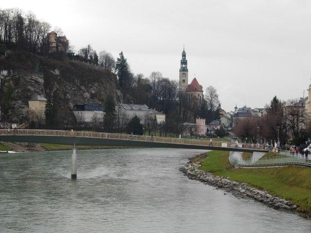 Pedestrian Bridge, Salzburg