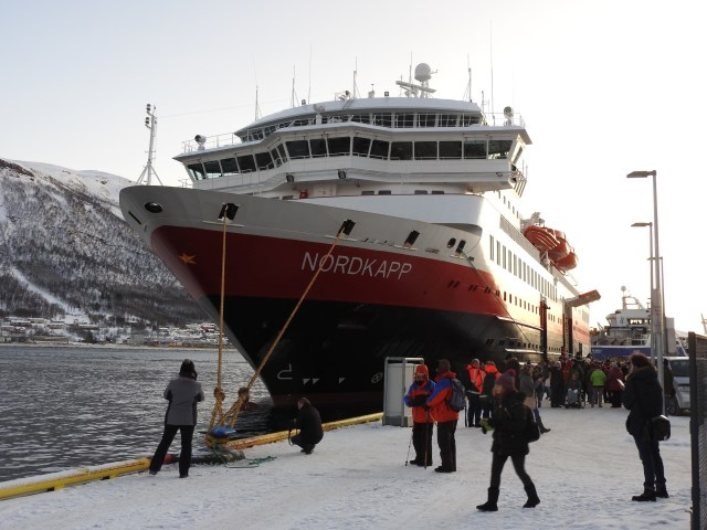 Hurtigruten Ship, Tromso