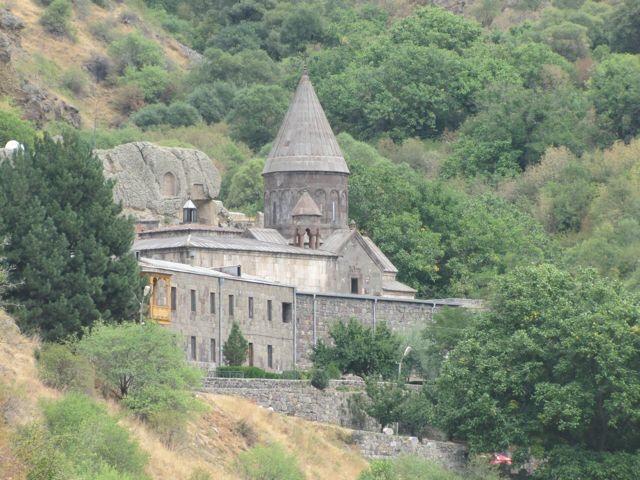 Geghard Monastery, Armenia. September 2014.