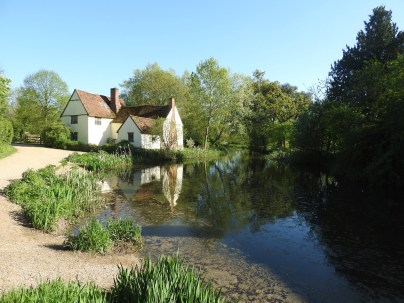 Flatford Mill, Suffolk (The Haywain Location by Constable)