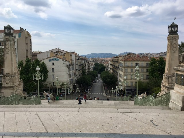 Marseille Station Steps