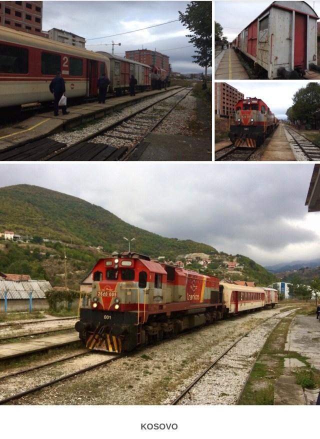 Train From Pristina to Hani E Zelit, Kosovo. September 2017.