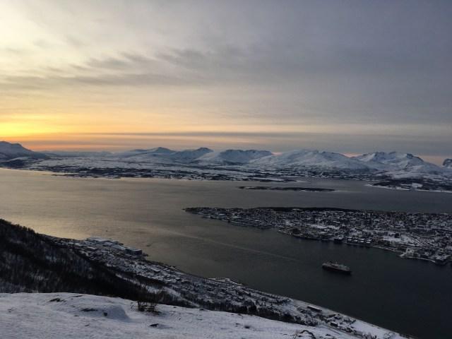 Tromso Fjord, Norway