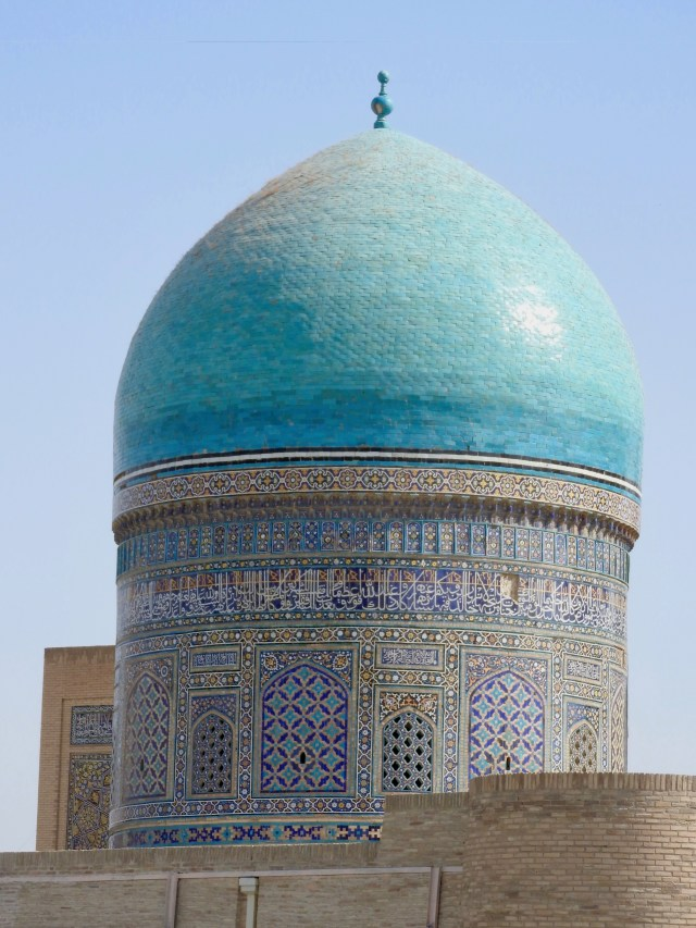 Dome of Mir-i-Arab Medressa, Bukhara
