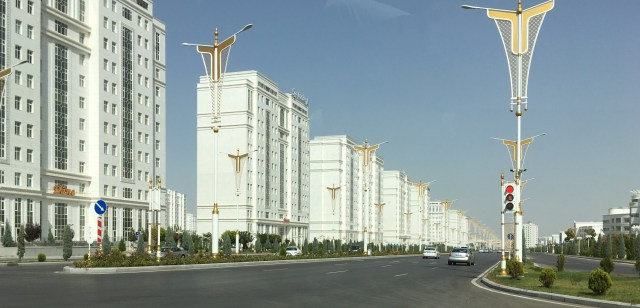 Ashgabat Apartment Blocks