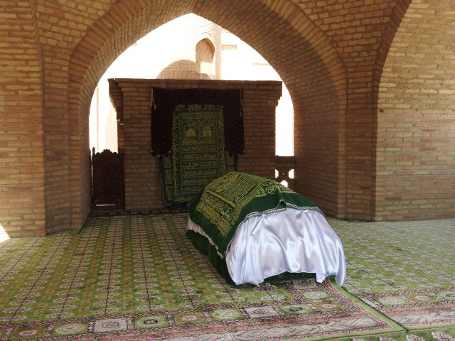 tomb of an unknown 12th Century dervish