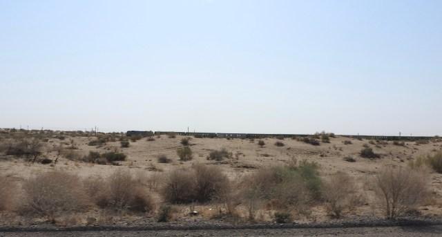 Train Karakum Desert, Turkmenistan