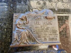 Grave of Eva Peron, Buenos Aires